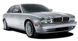 Chauffeur driven cars in Swansea area, including the long wheel based version of the new Jaguar XJ